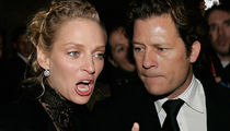 Uma Thurman -- Baby Daddy Forcing Her to Choose ... Movie or the Kid