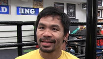 Manny Pacquiao -- Filipino Prez Should 'Cool Down' ... We Want U.S. Relations (VIDEO)