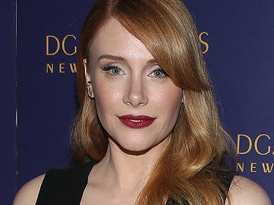 Bryce Dallas Howard Gained 30 POUNDS for New Role -- Wait'll You See Why!