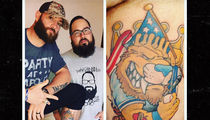 MLB's Jonny Gomes -- Check Out My World Series Tat!! ... 'We Whooped Their Ass!' (PHOTO)