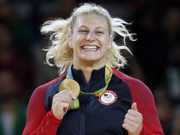 U S Olympic Gold Medalist Kayla Harrison Will Be Fighting