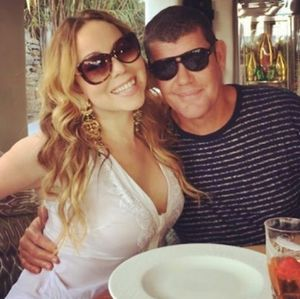 Mariah Carey and James Packer -- Happier Times