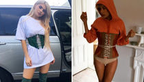 Kylie Jenner vs. Hailey Baldwin -- Who'd You Rather?! (Sexy Corset Edition)