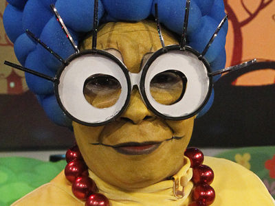 Whoopi Transforms Into Marge Simpson for Halloween -- Who Went as Cartman?