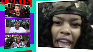 Teyana Taylor -- Married NBA Husband in Biker Jackets!