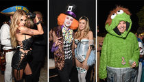 Clooney, Gerber & Meldman -- Casamigos Halloween Party the Place to Be (PHOTO GALLERY)
