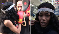 Teyana Taylor -- I'm Hot As Hell ... And Can Whoop Some Ass Too (VIDEO)