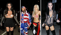 Kylie Jenner & Fellow Celebs -- We're Just Not Ourselves Tonight (Halloween Photo Gallery)