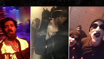 Khloe Kardashian & Tristan Thompson -- Hardcore PDA ... At Cavs Costume Party (VIDEO)