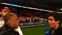 Washington Redskins Official -- SHUTS DOWN GERMAN REPORTER ... NO! NO! NO! (VIDEO)