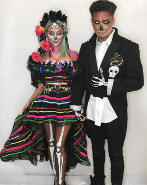 Celebs in Costumes -- Fright Night ... Full Throttle