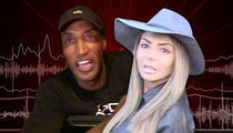 Scottie Pippen's Wife -- 911 Call ... 'My Husband is Getting Aggressive With Me' (AUDIO)
