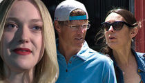 Dakota Fanning -- Hot Dad Has a Change of Heart ... Scratches Divorce