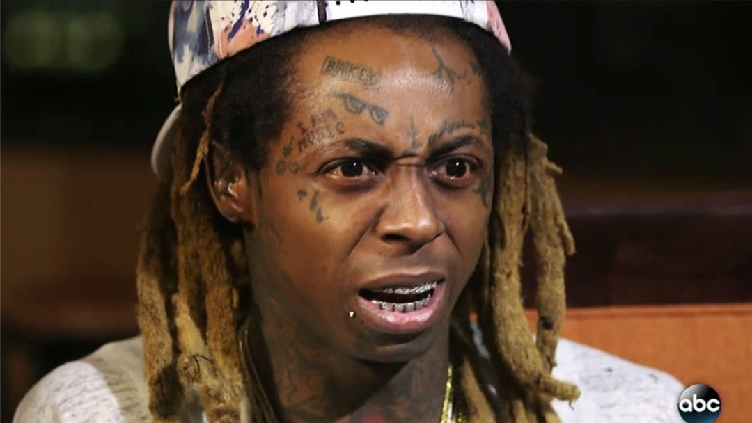Was Lil Wayne allowed to take his diamond teeth with him