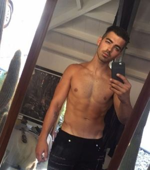 Joe Jonas' Hot Shots
