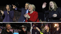 Hillary Clinton -- One Last Huge Celebrity Push (PHOTO GALLERY)