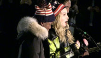 Madonna -- My Kid's Getting Political Too (VIDEO)