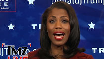 Omarosa -- It's Cookies and Chill ... Inside Donald Trump HQ (TMZ LIVE VIDEO)