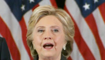 Hillary Clinton -- Emotional Concession ... This Is Painful and Will Be For a Long Time (VIDEO)