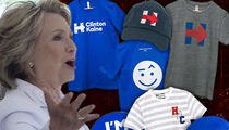 Hillary Clinton -- Winning for Losing! Leftover Merch Selling Out (PHOTOS)