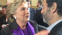 Hillary Clinton -- Hugs and Sorrows After Concession (VIDEO)