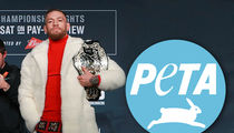 Conor McGregor -- PETA Pissed Over Mink Coat ... 'You're Not A Real Man' (VIDEO)