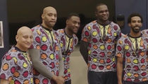 Memphis Grizzlies -- Ugly Suit Tribute to Craig Sager (VIDEO)