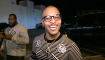 T.I. -- Punks TMZ Camera Guy ... You Wanna Bet ME on the Falcons??? (VIDEO)