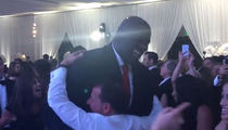 Shaq -- Crushes Wedding Horah ... Just Jewin' It, Baby! (VIDEO)