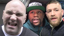 Dana White -- Fires Back at Floyd Mayweather ... 'You're the Cure for Insomnia'