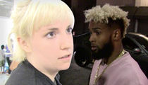 Lena Dunham -- Sorry Odell ... I Felt Like A 'Sack of Flaming Garbage' Around Those Hot Chicks