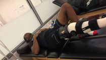 NFL's Geno Smith -- Busting My Ass In Rehab ... After Bad Knee Injury (PHOTOS)