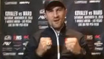 Sergey Kovalev -- Message To Andre Ward ... Imma Bust Your Ass, Bro (VIDEO)