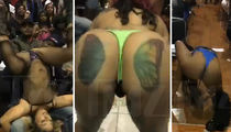V Live Strip Club -- Ass Tatts Flying ... These Chicks Need a Job! (VIDEOS)