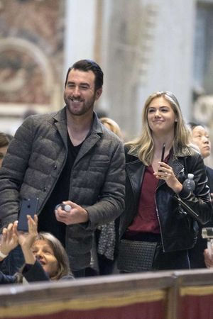 Kate Upton and Justin Verlander -- When in Rome