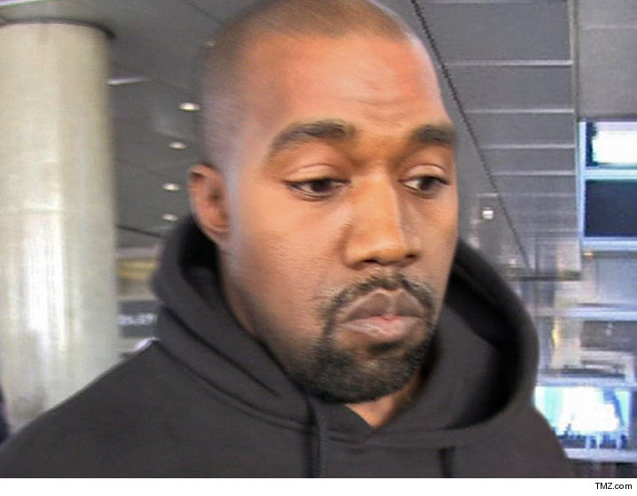 Kanye West Hospitalized, Handcuffed in Ambulance