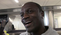 Akon -- Worried About Kanye ... Keeping My Eye On 'Kardashian Kurse' (VIDEO)