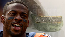NFL's Emmanuel Sanders -- Here's What I'm Thankful For ... My $12,000 Grill!! (PHOTO)