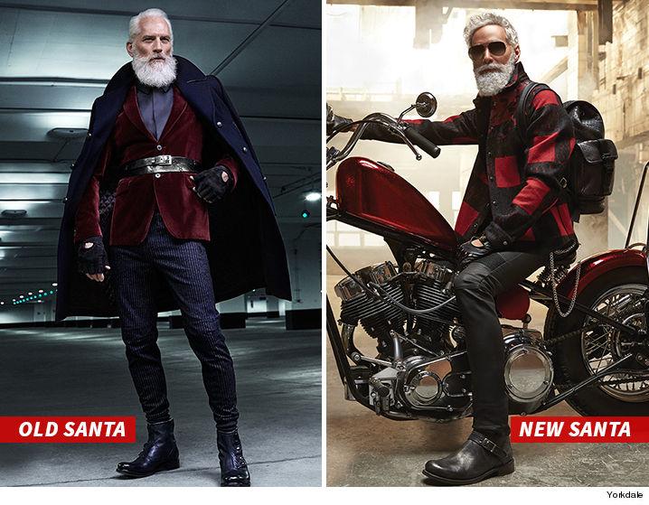Fashion Santa , Now Out of Fashion  Toronto Mall Gets