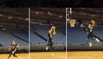 NBA's Zach LaVine -- INSANE 360 DUNK ... From Free Throw Line!!! (VIDEO)