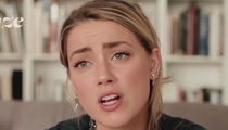 Amber Heard -- Emotional Domestic Violence PSA ... Here's How I Talk About Johnny Depp (VIDEO)