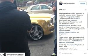 50 Cent Car Instagram Posts