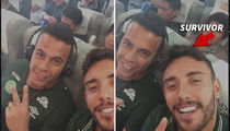 Colombia Plane Crash -- Soccer Team Survivor Instagrammed Before Crash (VIDEO + PHOTOS)
