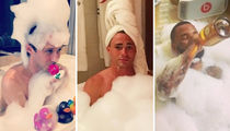 11 Sudsy Shots of Boys In Bubbles for National Bathtub Party Day!