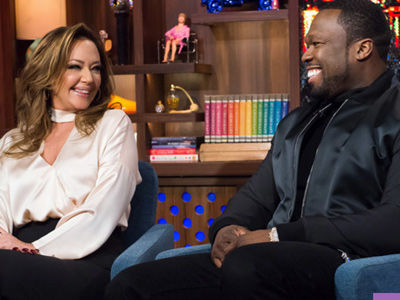 Leah Remini SCOLDS 50 Cent for Butt Play, Dishes On J.Lo & Marc's Kiss