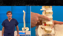 Rob Gronkowski -- Dr. Oz Explains Back Injury ... Here's Why He Needs Surgery (VIDEO)
