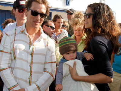 McConaughey Does VERY RARE Event with All Three Kids -- WOW, Wait'll You See Levi NOW!
