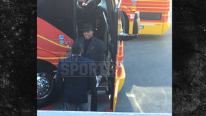 Cam Newton & Ron Rivera -- Pre-Game Wardrobe Confrontation ... At Team Bus