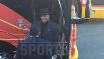 Cam Newton & Ron Rivera -- The Wardrobe Confrontation ... At Team Bus (VIDEO)