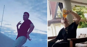 Johnny Manziel -- Chuggin' Fireball at 8AM ...…